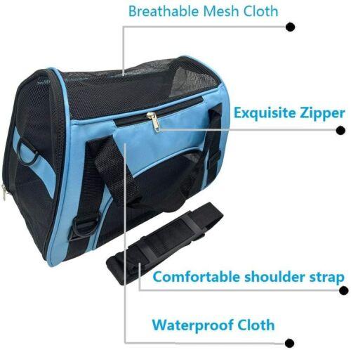 TIYOLAT Pet Carrier Bag, WATERPROOF Airline Approved Duffle Bag-