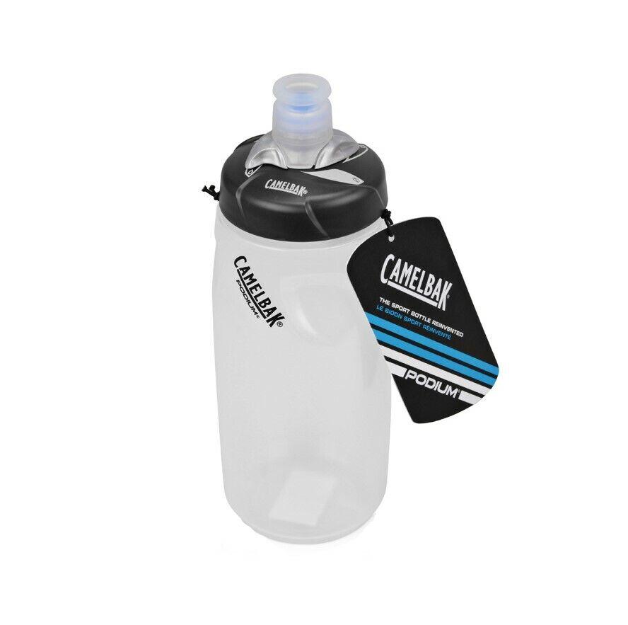 Camelbak Podium BPA-Free Bottle 21oz - Clear