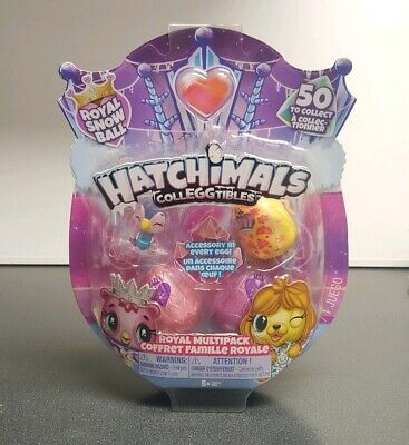 ✨ Hatchimals COLLEGGTIBLES Royal Hatch 4 Pack SEASON 6 RARE HTF NEW Eggs Egg ✨