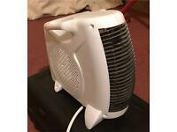 small desk electric fan heater