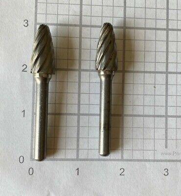 Carbide Burr Non-Ferrous, Tree - Radius End Non Ferrous Burr