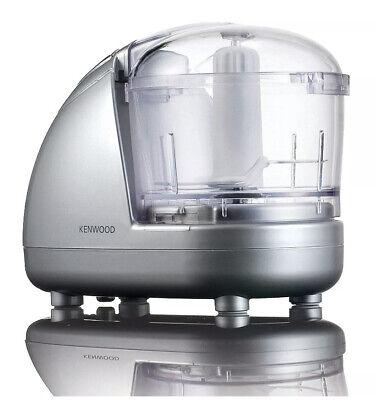 Kenwood Mini Electric 300w 2-speed Food Chopper And Processor 350ml silver New