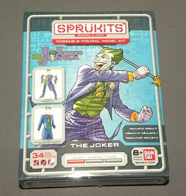 SPRUKITS DC COMICS LEVEL 1 JOKER ACTION FIGURE MODEL KIT BANDAI #smar17-91
