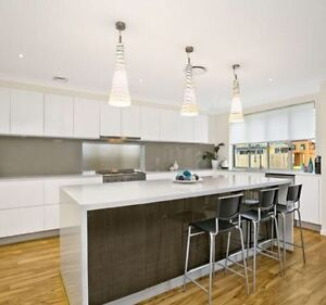 Kitchen Pendant Lights - stunning and large Edmondson Park Liverpool Area Preview