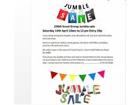 """""""Jumble Sale"""" Come and grab a bargain from lots to choose from"""