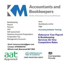 KM Accountants: Bookkeeping, Payroll, VAT Returns, Tax Returns, Self Assesment