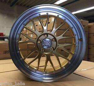 19 Zoll Le mans Alufelgen 5x112 ET45 VW Golf 5 6 7 R GTI Edition R32 Tiefbett