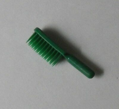 VTG Playmobil Green Hand Brush for Cleaning Lady 3315x Curling 6560 Advent 3974