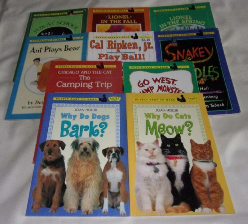 HUGE set of 10 Puffin Easy-to-Read: Level 3 series books