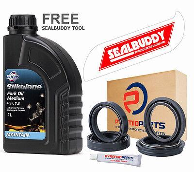 Honda CBR125 R 2004-2014 Fork Seals Dust Seals + Silkolene Oil + FREE TOOL
