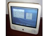 """Apple 17"""" eMac mit 700 MHz PowerPC G4, 512MB RAM, 38GB HDD MAC OS Nordrhein-Westfalen - Rheine Vorschau"""