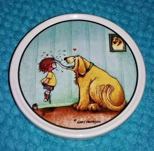 Gary Patterson Dog Lovers Coaster by Clay Design