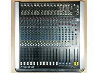 SOUNDCRAFT M12 MIXER Stereo, 12 microphone / line, 3 stereo inputs, multiple bus and SPDIF out