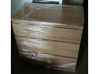 New chest of drawer in oak