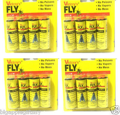 16 ROLLS INSECT BUG FLY GLUE PAPER ...