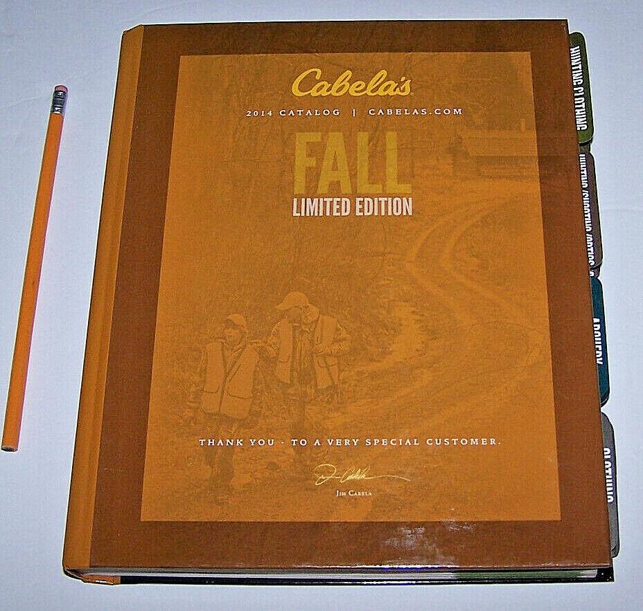 2014 CABELAS CATALOG  Limited FALL Edition