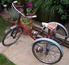 Bikes. Bicycle. Raleigh Childs Trike. Tricycle 1950 1960s. Raleigh Panther Go Kart