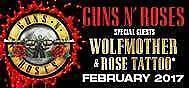 Guns N' Roses | Diamond GA Standing Tickets | ANZ | 10 February Sydney City Inner Sydney Preview