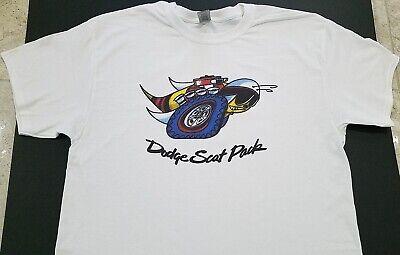 NEW DODGE Vintage SCAT PACK T-SHIRT hemi 6.4L 392 AAR CUDA PLYMOUTH NHRA MOPAR @ Performance Floor Shifter