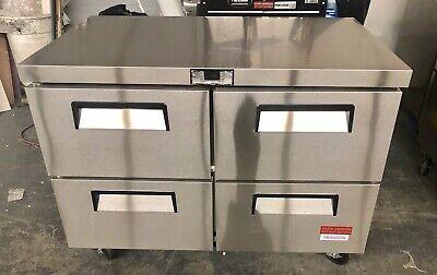 Undercounter Refrigerator With 4 Drawers Draw Cooler 48 Work Top 2 Door 4 New