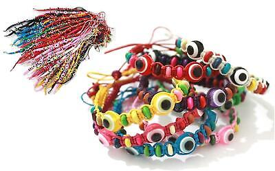 Wristband Powerful Vintage Evil Eye Beaded Charm Chain Bracelet Good Luck - Evil Eye Good Luck Chain