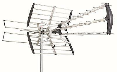 180Mile HDTV 1080p Outdoor Amplified Antenna Directional Digital HD UHF/VHF/FM