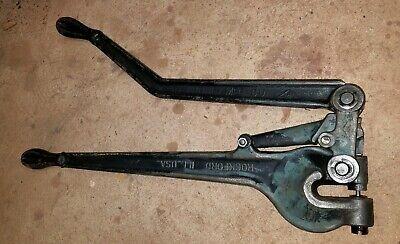 Roper Whitney No 2 Hand Punch Usa 316 Punch Die Ironworker Welding Blacksmith