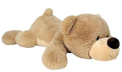 Wagner 9034 - Teddybär 105 cm beige Plüschbär Teddy Plüschtier riesen-groß 1,05