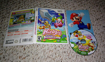 Kirby's Return to Dream Land (Nintendo Wii) No Manual Tested FAST SHIPPING