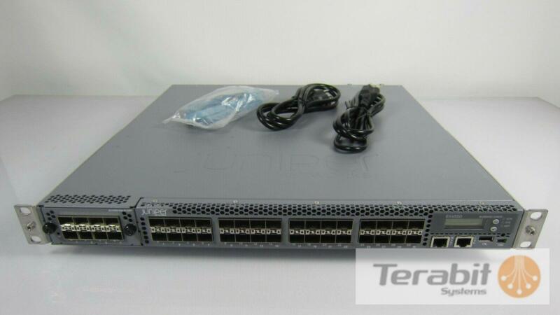 Juniper EX4550-32F-AFI + 2X EX4550-EM-8XSFP + 2X AFI 650W AC Power