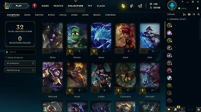 SALE! CHEAP League of Legends Account - LVL 30 - NA - North America [RANK READY]