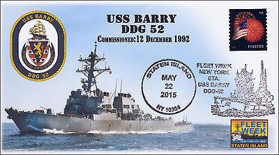 2015, USS Barry, Fleet Week, Naval, Pictorial, 15-154