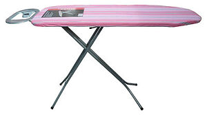 Large Lightweight Folding Steel Frame Steam Ironing Board & Cover in 4 Designs