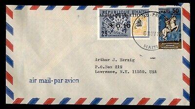 DR WHO 1974 HAITI PORT AU PRINCE AIRMAIL TO USA  g07721