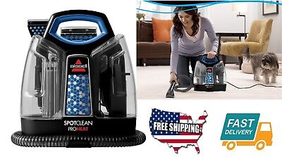 Home Kitchen Floor Care Tool  SpotClean ProHeat Portable Spot Cleaner Machine
