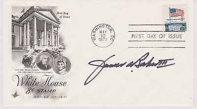 SIGNED SECRETARY OF STATE JAMES BAKER III FDC AUTOGRAPHED FIRST DAY COVER CACHET