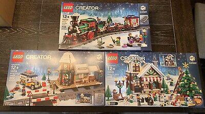 LEGO 10249 + 10254 + 10259 W/ Train Power Functions