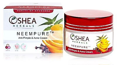 OSHEA ANTI ACNE & PIMPLE CARE HERBAL CREAM WIT NEEM 50 gms