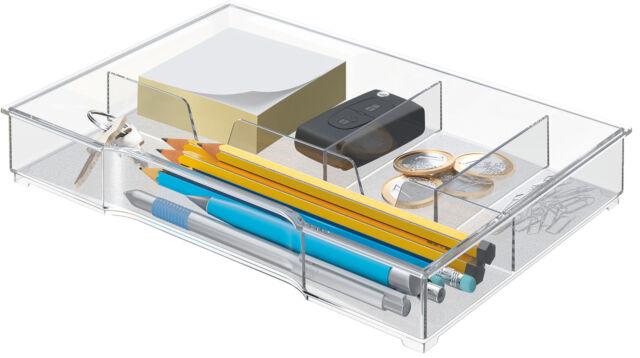Leitz CUBE/PLUS/WOw Schubladeneinsatz glasklar LE2622 52150002