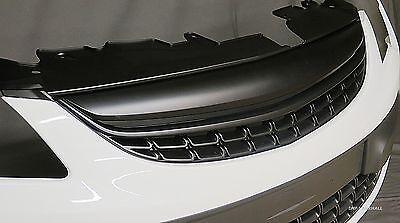 VAUXHALL CORSA D 2011-2014 (facelift) BLACK DE-BADGED SPORTS GRILLE GRILL