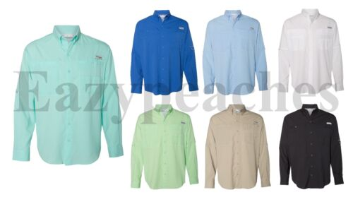Columbia Sportswear Long Sleeve Shirt, Ripstop, Sizes S-3XL, Men's Tamiami II