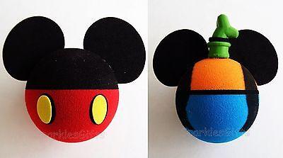 Disney - Mickey Mouse - Mickey Body & Goofy Body Antenna Toppers Lot of 2 - Mickey Mouse Mickey