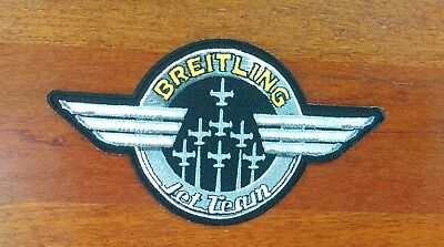 Breitling Fighters Precision-Flying Jet Team flight jacket patch > awesome! - Jets Flying