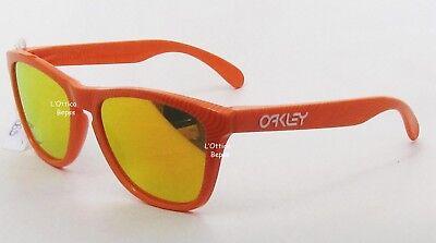OAKLEY Fingerabdruck Kollektion FROGSKINS 9013 53 FIN. ATOMIC ORANGE Objektiv