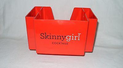 Skinny Girl Vodka   Bethenny Frankel   Promo Barware Caddy Napkin Holder  New