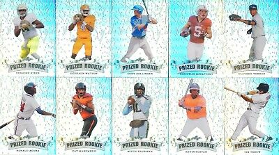 2017 GLEYBER TORRES Leaf PRIZED ROOKIE Chrome Refractor ( only 50 made ) RC