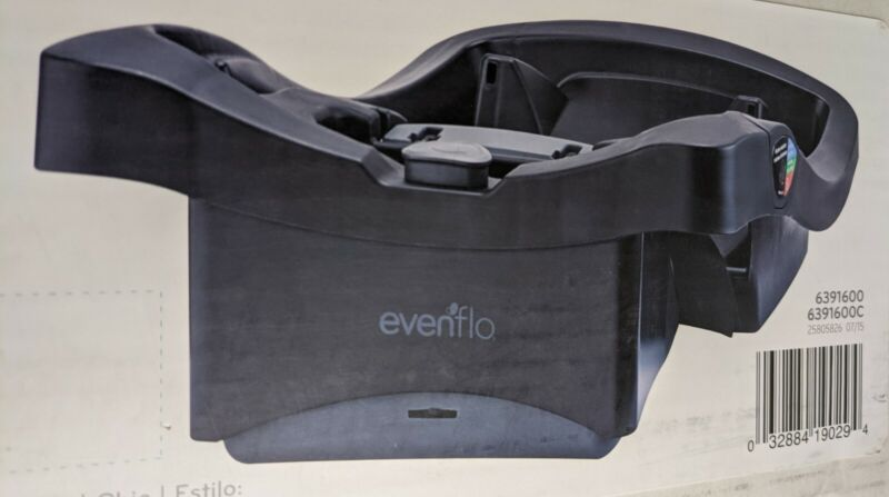 Evenflo LiteMax 35 Infant Car Seat Base Easy to Install Versatile Convenient NEW