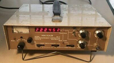 Eberline Ms-2 Geiger Counter Gamma Spectrometer Scaler