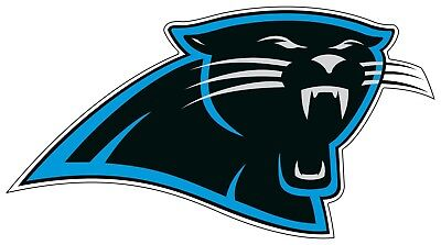 Carolina Panthers NFL Color Die Cut Vinyl Decal Sticker - You Choose Size car