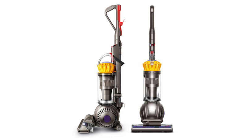 Dyson Cinetic Big Ball Animal + Allergy Bagless Upright Vacuum Iron/Nickel 206033-01